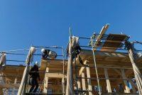 LCCM 住宅 省エネ 高性能 上棟 木の家 大工産 加古川 注文住宅 高気密 高断熱